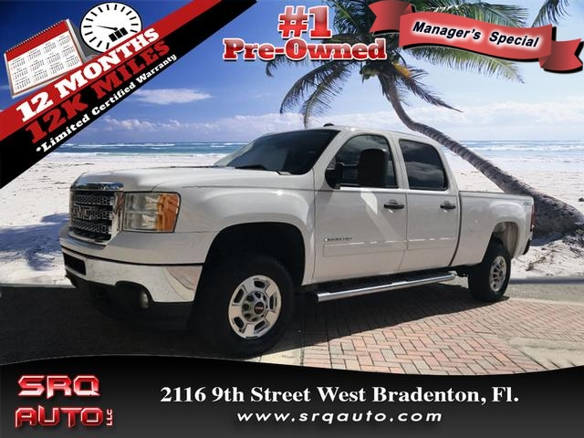 Certified Pre-Owned 2012 GMC Sierra 2500HD SLE