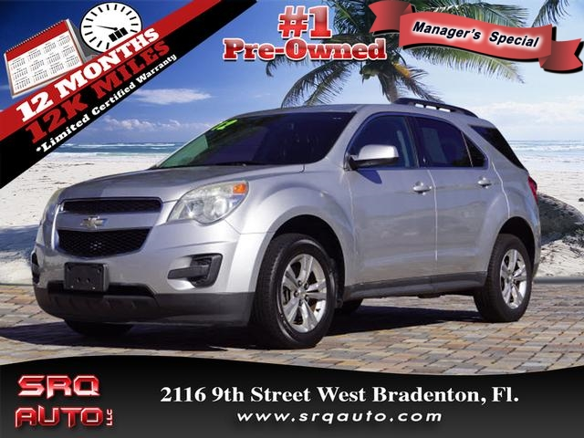 Certified Pre-Owned 2012 Chevrolet Equinox LT
