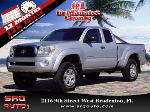 Certified Pre-Owned 2008 Toyota Tacoma PreRunner V6